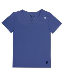 T-Shirt baby korte mouwen / Blauw - Mambotango