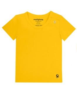 T-Shirt baby korte mouwen / Geel - Mambotango