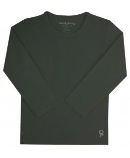 T-Shirt lange mouwen / Grijs - Mambotango