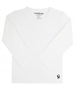 T-Shirt lange mouwen / Wit - Mambotango