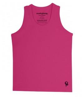 T-Shirt zonder mouwen / Fuchsia - Mambotango