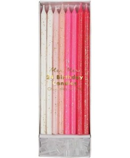 Pink candles - Meri Meri