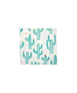 Cactus napkins L - Meri Meri