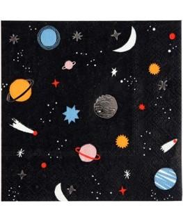 Space napkins S - Meri Meri