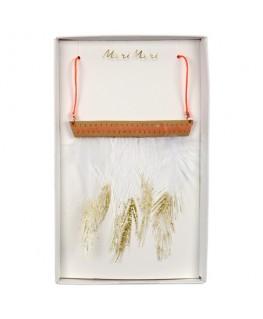 Feather necklace - Meri Meri