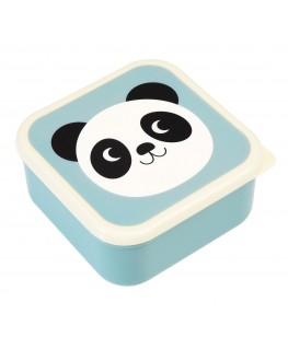 Panda, Cat And Rabbit Snack Boxes (Set Of 3) - Rex