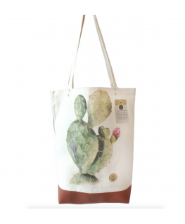 Tote Bag Cactus - Annet Weelink Design