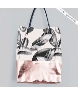 Shopper Baja Leaves - Annet Weelink Design