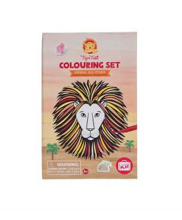 Colouring Sets/Animals All- Stars +4j -Tiger Tribe