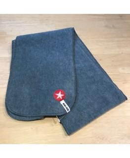 Lichtgrijze sjaal fleece plain Kleuter - Kik*Kid