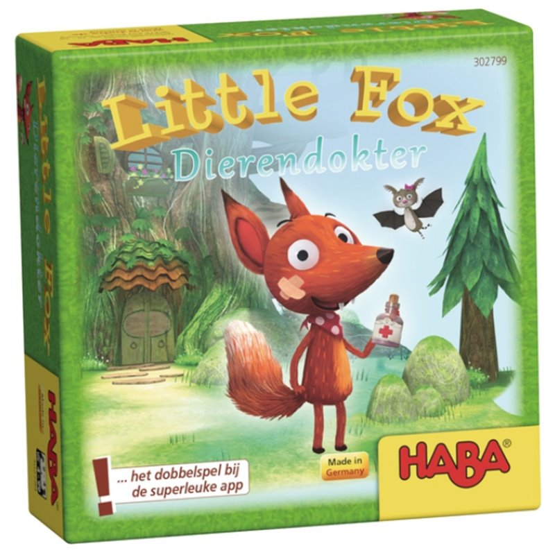 Little fox: dierendokter - Haba