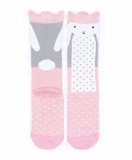 Kniekous Bunny Sock with Crown Small - Billy Loves Audrey