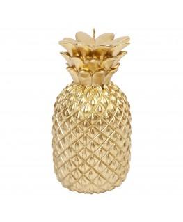 Gouden ananas kaars Small - Sunnylife