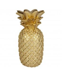 Gouden ananas kaars Large - Sunnylife
