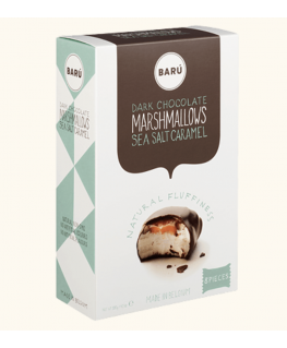 Dark Chocolate & Sea Salt Caramel Marshmallow 120g - Barú