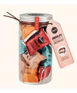 Marshmallow Gift Jar Assorted Flavours 208g - Barú
