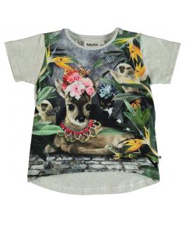Risha T-shirt SS Flower bambi - Molo