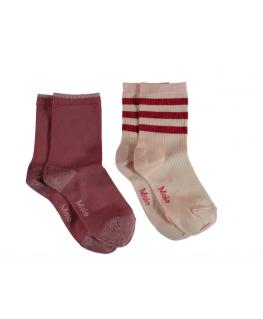 Nella Socks Pearled ivory - Molo
