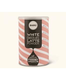 White Latte Drinking Chocolate 250g - Barú - Happy Hippo