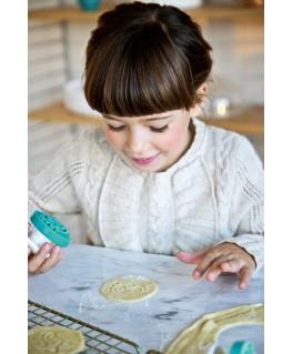 Stempels voor zandkoekjes (4pc) -  Little chef - Lilliputiens
