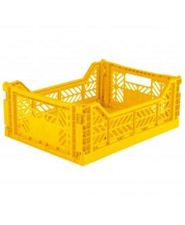 Vouwkrat geel Midi - AY-kasa