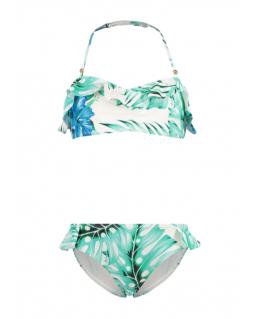 Bandeau bikini blue la multi colour - Shiwi front
