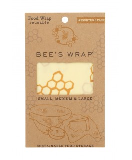 Bee's wrap 3-pack assorted ( starter Set)