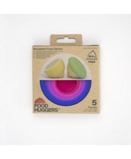 set of 5 Bright Berry  - FOOD HUGGERS®