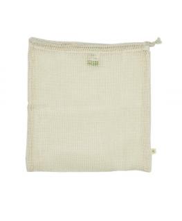 Organic Cotton Mesh Bag - Large - A slice of green