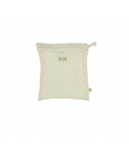 Organic Cotton Mesh Produce Bag - Small - A slice of green