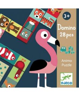 Domino dieren puzzel +3y - Djeco