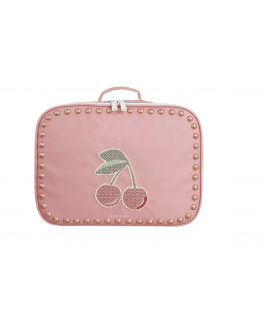 Suitcase Mini Cherry Studs - Jeune Premier