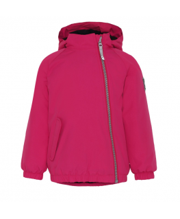 Hoshi Jacket Bright pink front - Molo