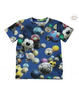Ralphie T-shirt Cosmic Footballs - Molo front