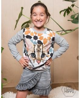 Regine t-shirt bengal portrait - Molo