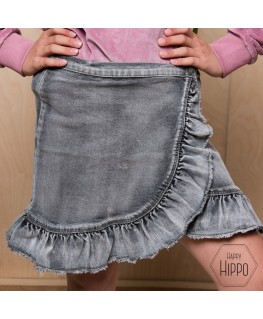 Brigitt skirt grey washed denim - Molo