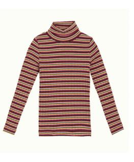 Rollneck top Huntley stripe - Petit Louie