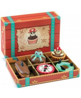 Piraten taartjes en cupcakes +3j - Djeco