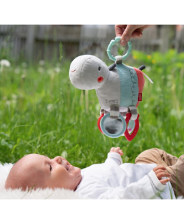 Loopy & Lotta - Activity hippo with ring - Fehn