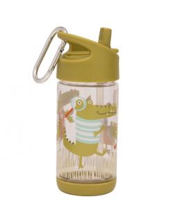 Flip & Sip clear Tritan drinkfles Ollie Gator