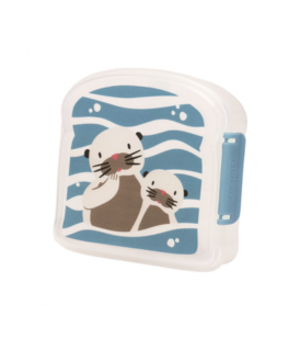 Good lunch sandwich box baby otter - Sugarbooger