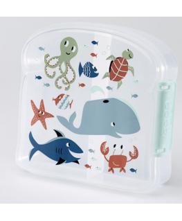 Good lunch sandwich box ocean - Sugarbooger