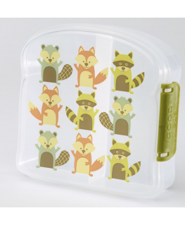 Good lunch sandwich box what did the fox eat - Sugarbooger