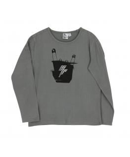 Shirt Turtleneck Grey Bamboo - Froy&Dind
