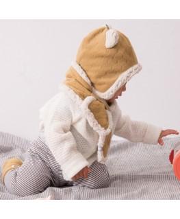 Rode pyjama 2-delig  velours - Mundo Melocoton