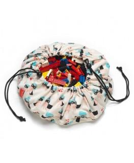 Supergirl mini opbergzak - speelmat - Play&Go