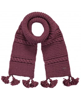 Claire Scarf girls maroon - Barts