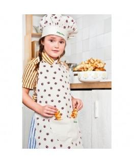 Emoti-Georges keukenschort en koksmuts little chef- Lilliputiens