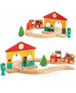 Mini trein - Djeco