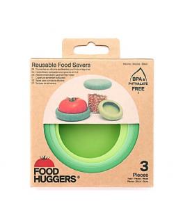 FOOD HUGGERS® - set of 3 Big Hugs Soft Greens